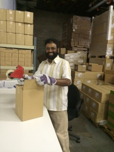 "Ismat, Warehouse Manager, ""I give thanks every day to the holy father up above for all the blessings we have in this great life."""