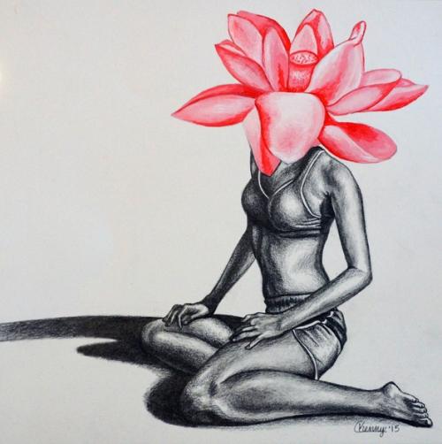She Was a Flower by Courtney Kenny Porto